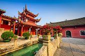 Fuzhou, China at Yongquan Temple on Drum Mountain.