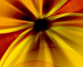 Yellow Abstract Gradient Background