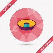 picture of juicer  - Kitchenware Juicer Flat Icon With Long Shadow - JPG