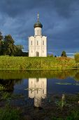 Church Intercession Of Holy Virgin On Nerl River. Russia