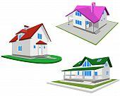 Set Of Houses