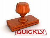 Rubber Stamp quickly (clipping path included)