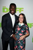 LOS ANGELES - FEB 12:  Prince Amukamara at the