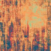 Old background or texture. With different color patterns: brown; blue; cyan; red (orange); purple (violet)