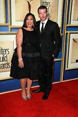 LOS ANGELES - FEB 14:  Shonda Rhimes, Scott Foley at the 2015 Writers Guild Awards at a Century Plaza Hotel on February 14, 2015 in Century City, CA