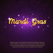 Mardi Gras Beauty Background
