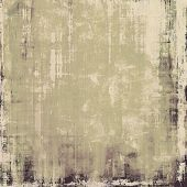Antique vintage background. With different color patterns: brown; gray; black
