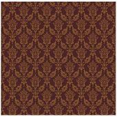 stock photo of damask  - Brown Vintage background  vector illustration - JPG