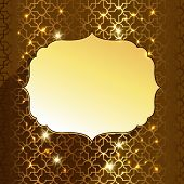 pic of kareem  - beautiful decorative ramadan  kareem greetings  background - JPG