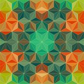 foto of psychedelic  - Vector Abstract Modern Psychedelic Pattern - JPG