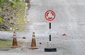 pic of traffic signal  - Road sign traffic rotary signal circular transportation - JPG