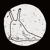 picture of slug  - Slug Doodle - JPG