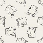 pic of clotheslines  - Clothesline Doodle - JPG