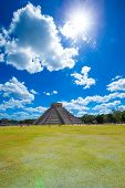 pic of mayan  - Ancient Mayan civilization historical ruins - JPG