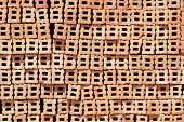 image of brick block  - Brick blocks stacked to be used for construction - JPG