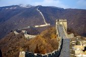 image of mongol  - The great wall of china outside of beijing in winter - JPG