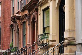 image of brownstone  - New York City United States  - JPG