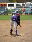 Young Baseball Pitcher