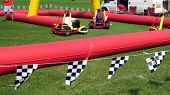 Children Playing Carting/Go-Carts,Children Racing