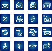 Full Set Of Mail Icons