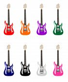 Colored Electric Guitars