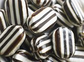 stock photo of humbug  - Hard Candy Humbugs In A Large Group - JPG