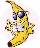 Banana With Attitude