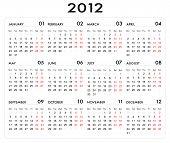 2012 Cubic Calender