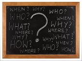 foto of question-mark  - Questions - JPG