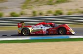 ESTORIL - SEPTEMBER 25: The Toyota Lola B10/60 of the Swiss team Rebellion Racing piloted by Andrea
