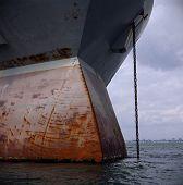 Rusting Ship Bow