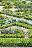 An Italian Style Formal Garden In Paris, France poster