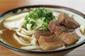 Okinawan noodles of a Yanbaru dining-room