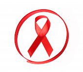 Aids Hiv Awareness Ribbon