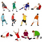 People - Sport - Footballers