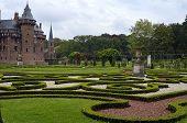 September 2011: Medieval castle de Haar, Netherlands Castle De Haar in Haarzuilens The Netherlands