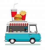 Street Fast Food Automobile. Fast Food Truck City Car. Fast-food Car. Street Food Truck. Street Food poster