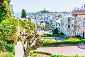 High Angle View Of San Francisco Skyline poster