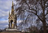 The Prince Albert memorial in Hyde park