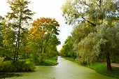 picture of tsarskoe  - Canal in Catherine - JPG