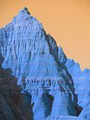 Stimmungen der Natur: Badlands blau Rising