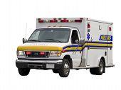 Paramedic Van Isolated