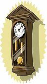 Grandfather Clock On Wall