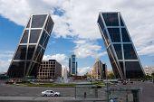 Kio Towers In Madrid