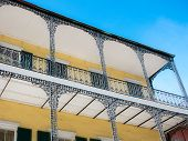 Residence In The French Quarter, New Orleans, Usa poster