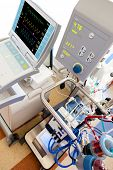 picture of icu  - extracorporeal membrane oxygenation  - JPG