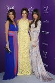 LOS ANGELES - JUNE 9: Jamie Lynn Sigler, Jenna Dewan, Lea Michele at the 11th Annual Chrysalis Butte