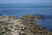 Giants Causeway desaparecer en el mar