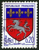 Coat Of Arms Of Saint-lo In France