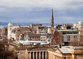 Edinburgh Skylines building Scotland UK